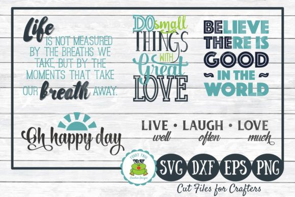 Download Free Inspirational Quotes Graphic By Funkyfrogcreativedesigns SVG Cut Files