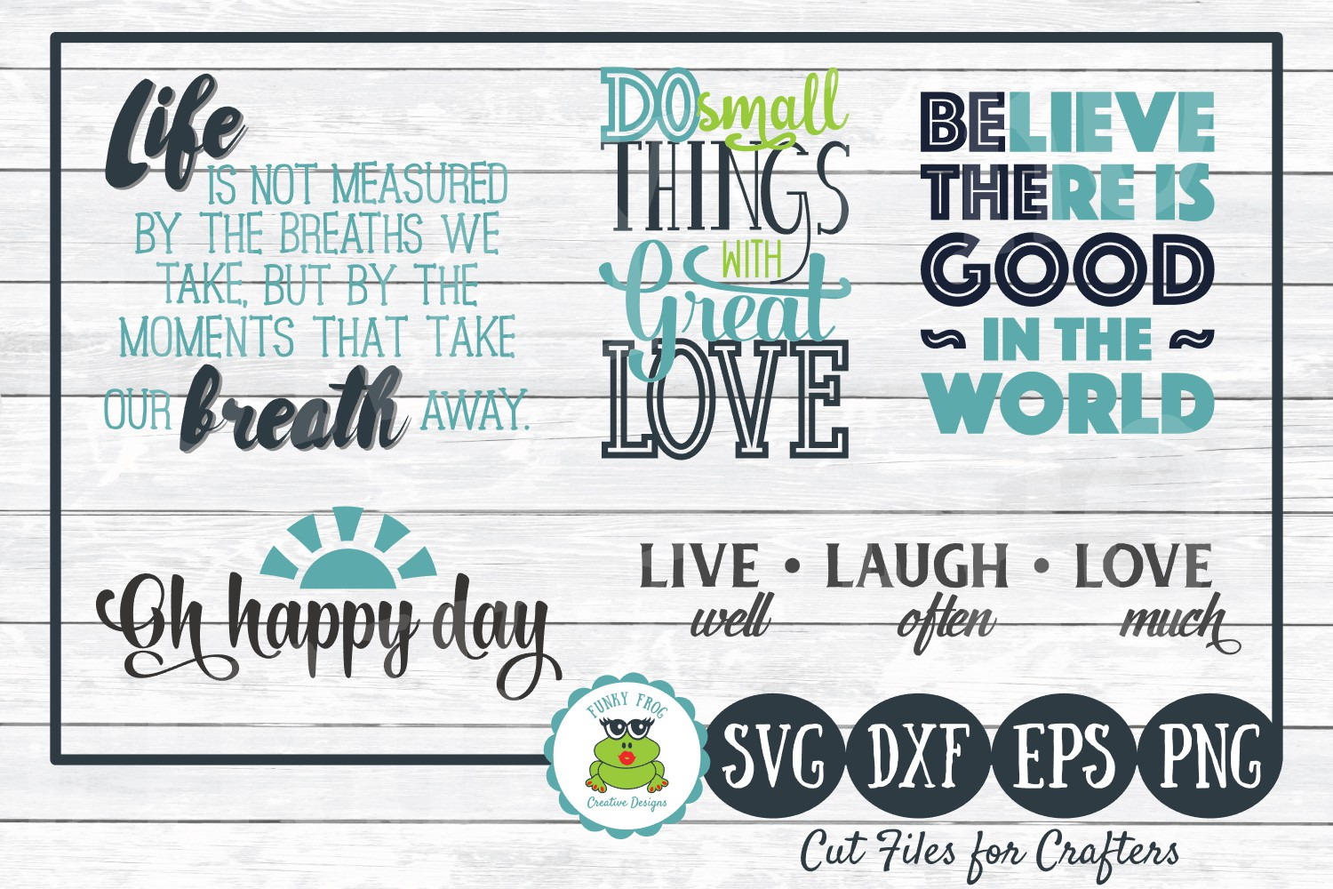 Download Free Inspirational Quotes Graphic By Funkyfrogcreativedesigns for Cricut Explore, Silhouette and other cutting machines.
