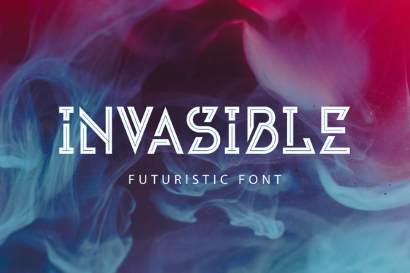 Invasible Display Font By Arterfak Project