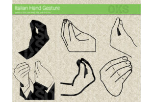 Download Free Italian Hand Gesture Svg Vector Graphic By Crafteroks Creative for Cricut Explore, Silhouette and other cutting machines.