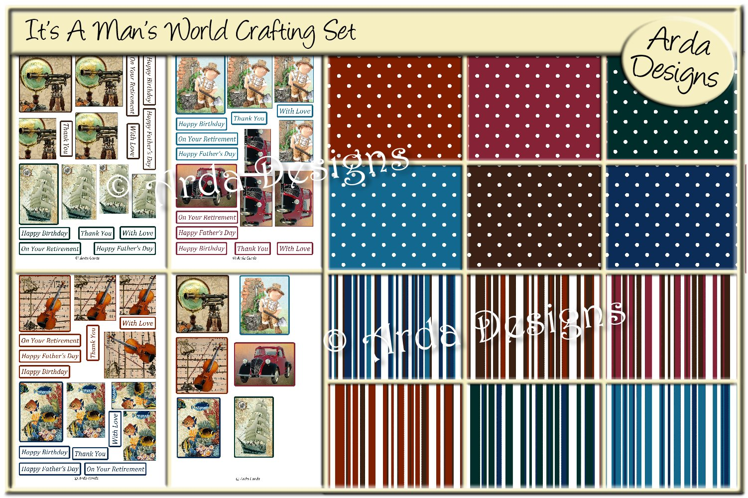 Download Free It S A Man S World Craft Kit Grafik Von Arda Designs Creative for Cricut Explore, Silhouette and other cutting machines.