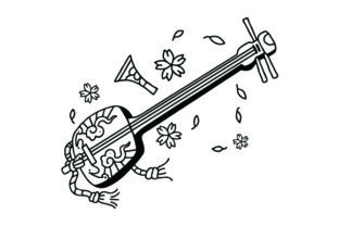 Japanese Style Tattoos Craft Cut File By Creative Fabrica Crafts