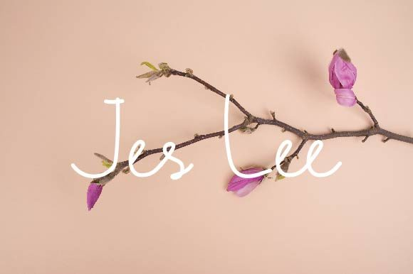 Print on Demand: Jes Lee Script & Handwritten Font By ponizeothox