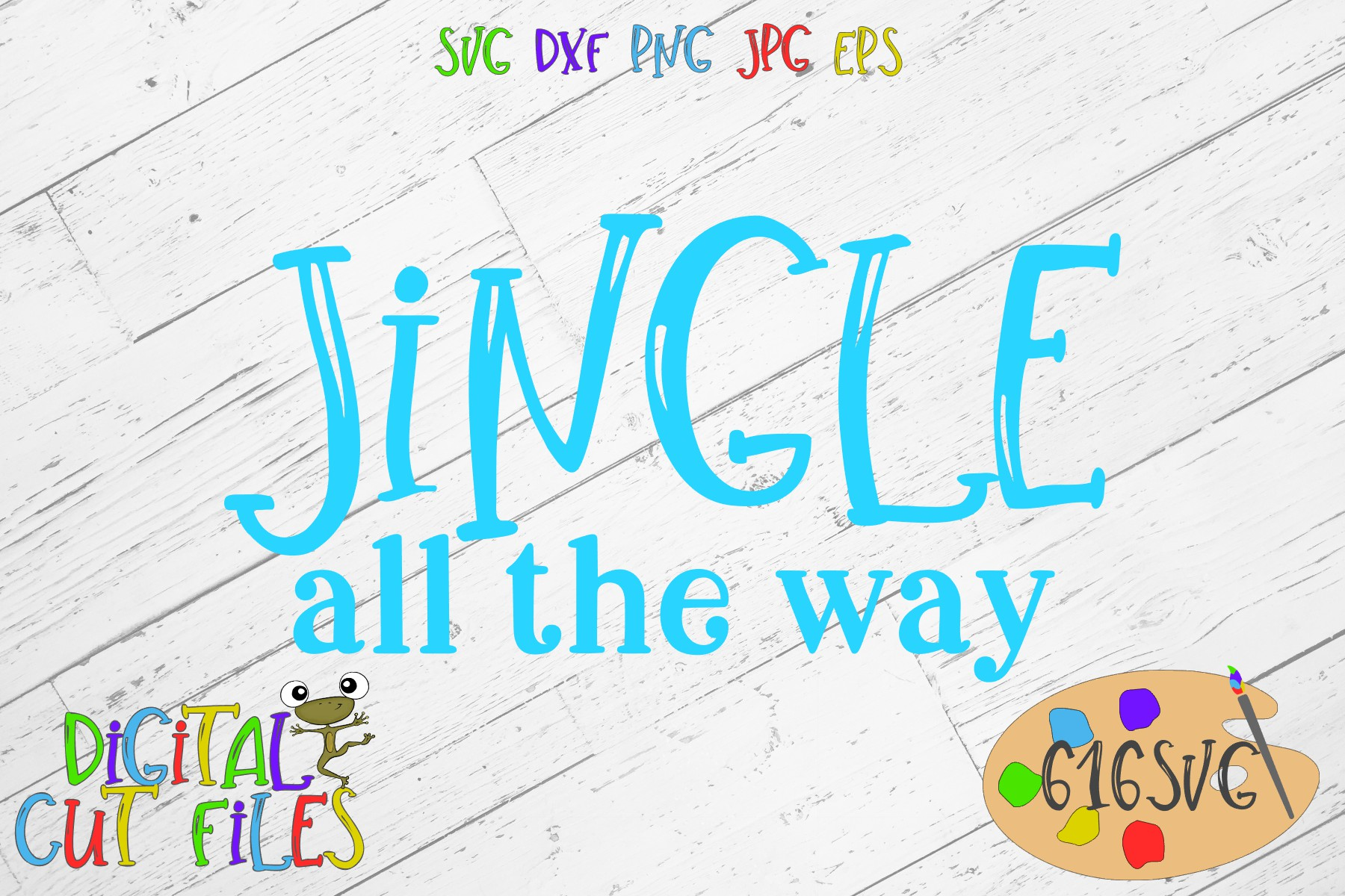 Download Free Jingle All The Way Svg Graphic By 616svg Creative Fabrica for Cricut Explore, Silhouette and other cutting machines.