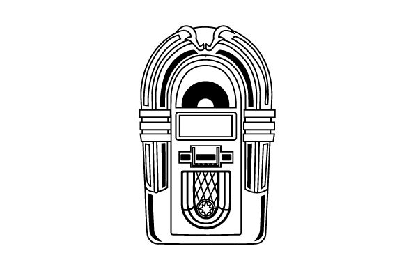 Download Free Jukebox Svg Cut File By Creative Fabrica Crafts Creative Fabrica for Cricut Explore, Silhouette and other cutting machines.
