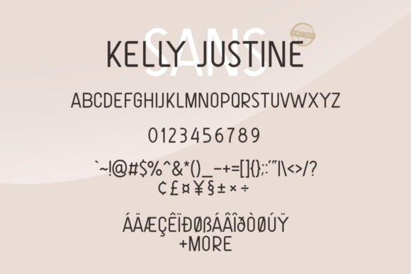 Print on Demand: Just Kelly Justine Duo Script & Handwritten Font By Khurasan - Image 8