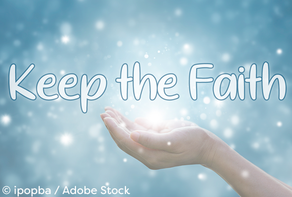 Download Free Keep The Faith Font By Misti Creative Fabrica for Cricut Explore, Silhouette and other cutting machines.