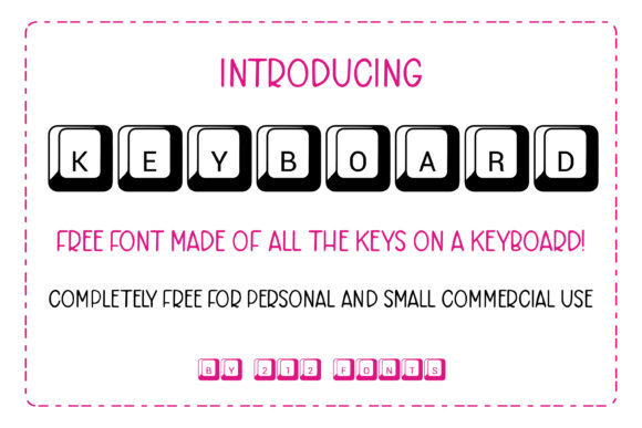 Print on Demand: Keyboard Display Schriftarten von 212 Fonts