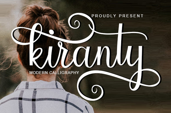 Print on Demand: Kiranty Script & Handwritten Font By utopiabrand19