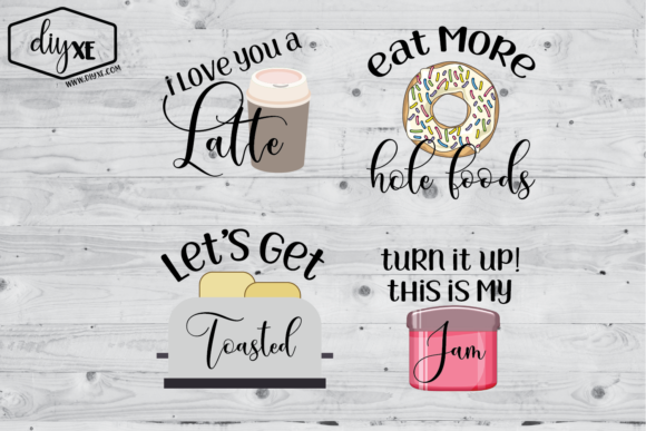 Kitchen Sublimation Bundle Graphic Illustrations By Sheryl Holst