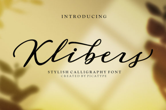 Print on Demand: Klibers Script & Handwritten Font By Picatype Studio