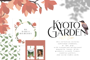 Kyoto Garden Graphic By BilberryCreate