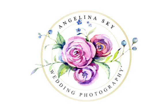 Print on Demand: Logo with Roses and Wildflowers Graphic Illustrations By MyStocks - Image 5