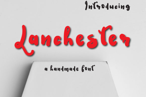 Print on Demand: Lanchester Display Font By Autumn Designs