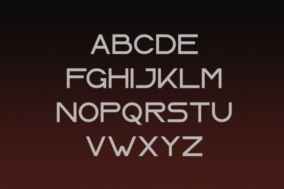 Print on Demand: Laser Display Font By Line creative - Image 2
