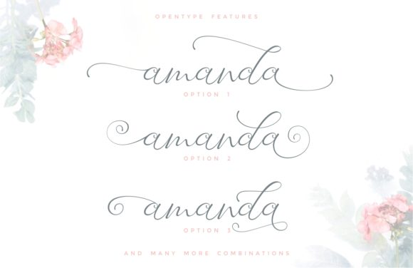 Print on Demand: Laureta Script & Handwritten Font By putracetol - Image 3