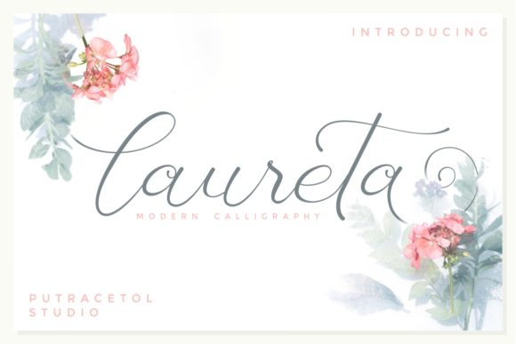 Print on Demand: Laureta Script & Handwritten Font By putracetol - Image 1