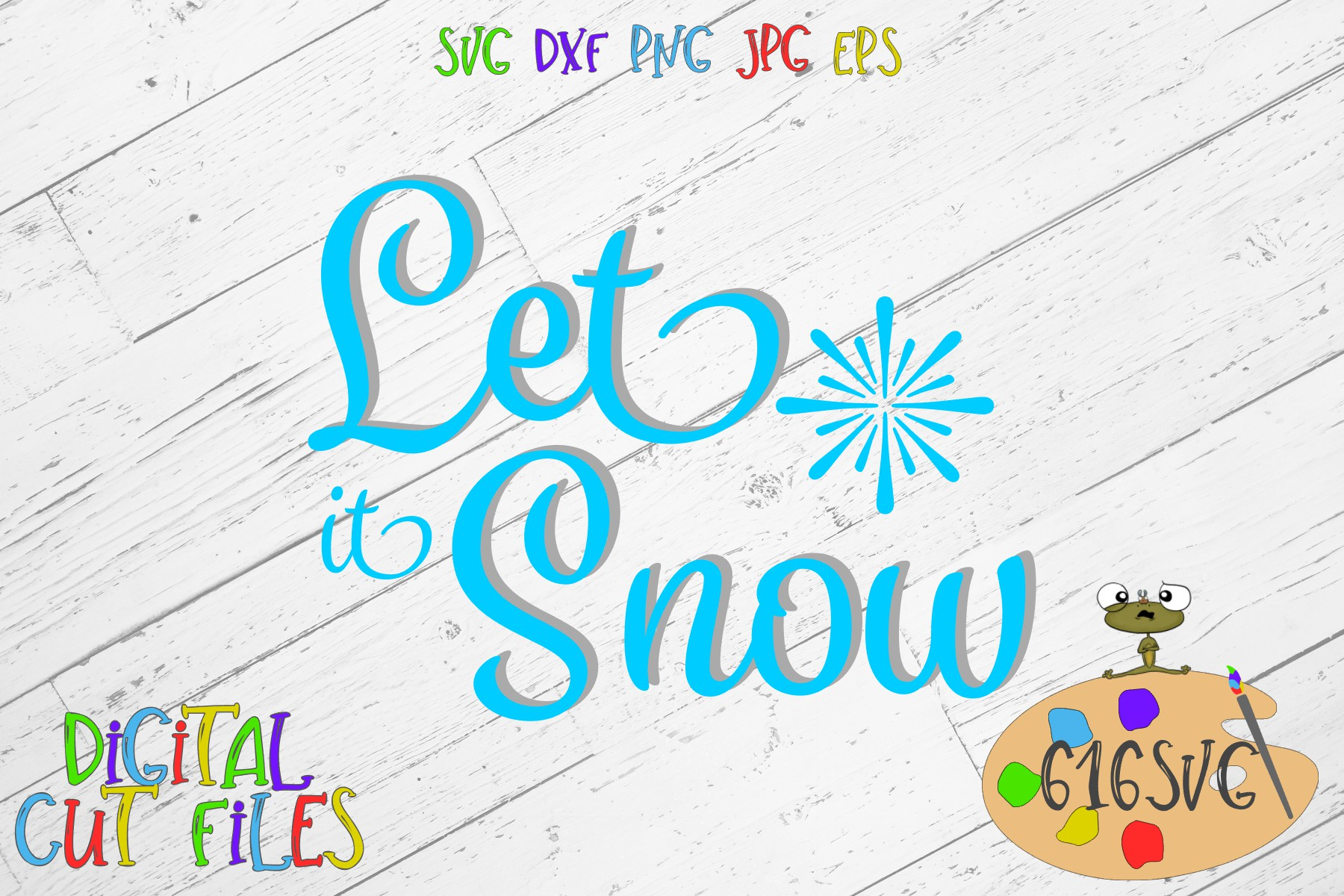 Download Free Let It Snow Svg Dxf Graphic By 616svg Creative Fabrica for Cricut Explore, Silhouette and other cutting machines.