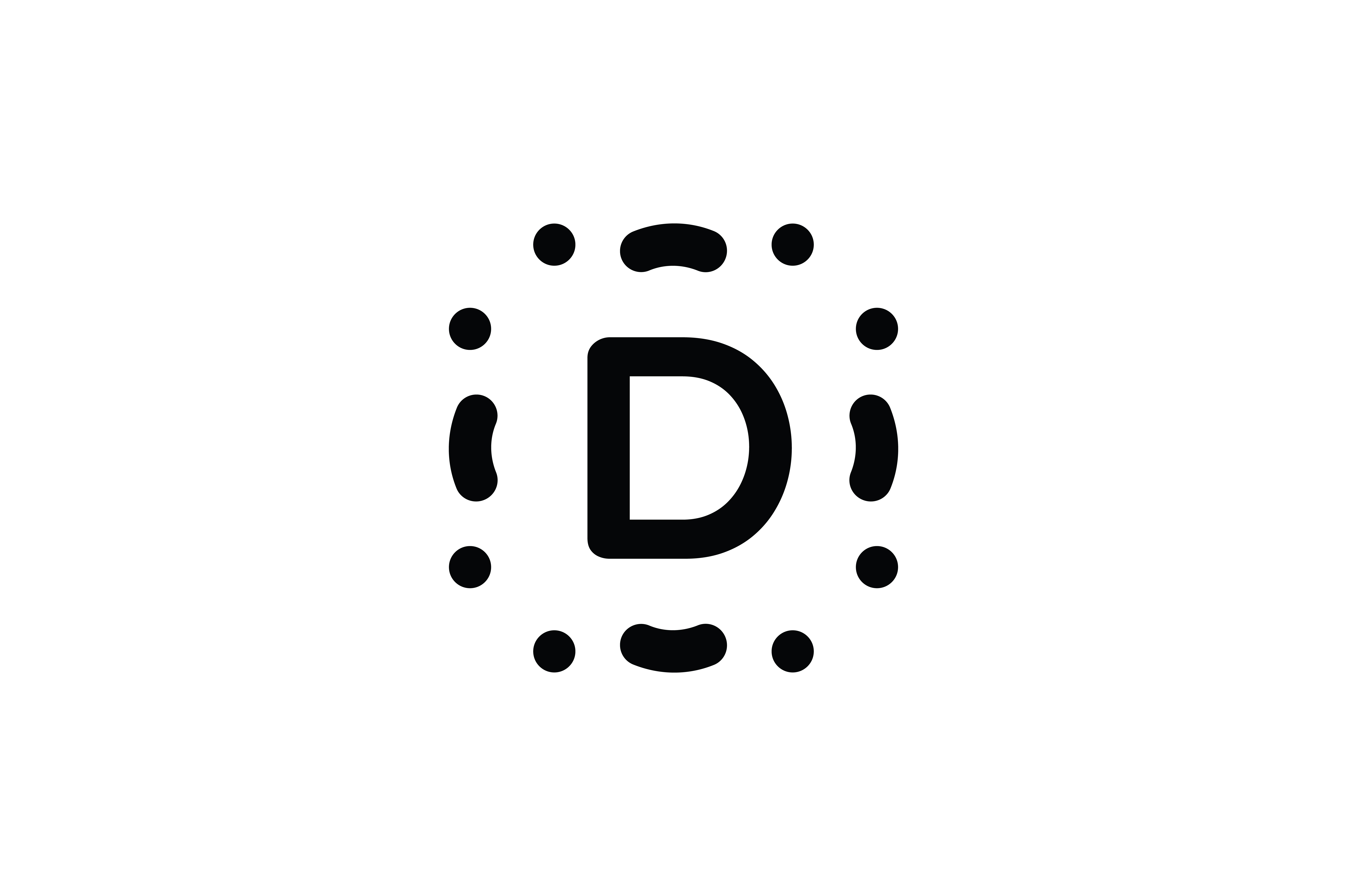 Download Free Letter D Icon Graphic By Newicon Creative Fabrica for Cricut Explore, Silhouette and other cutting machines.