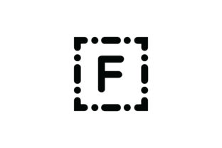 Letter F Icon Graphic Icons By Cowboy Studios