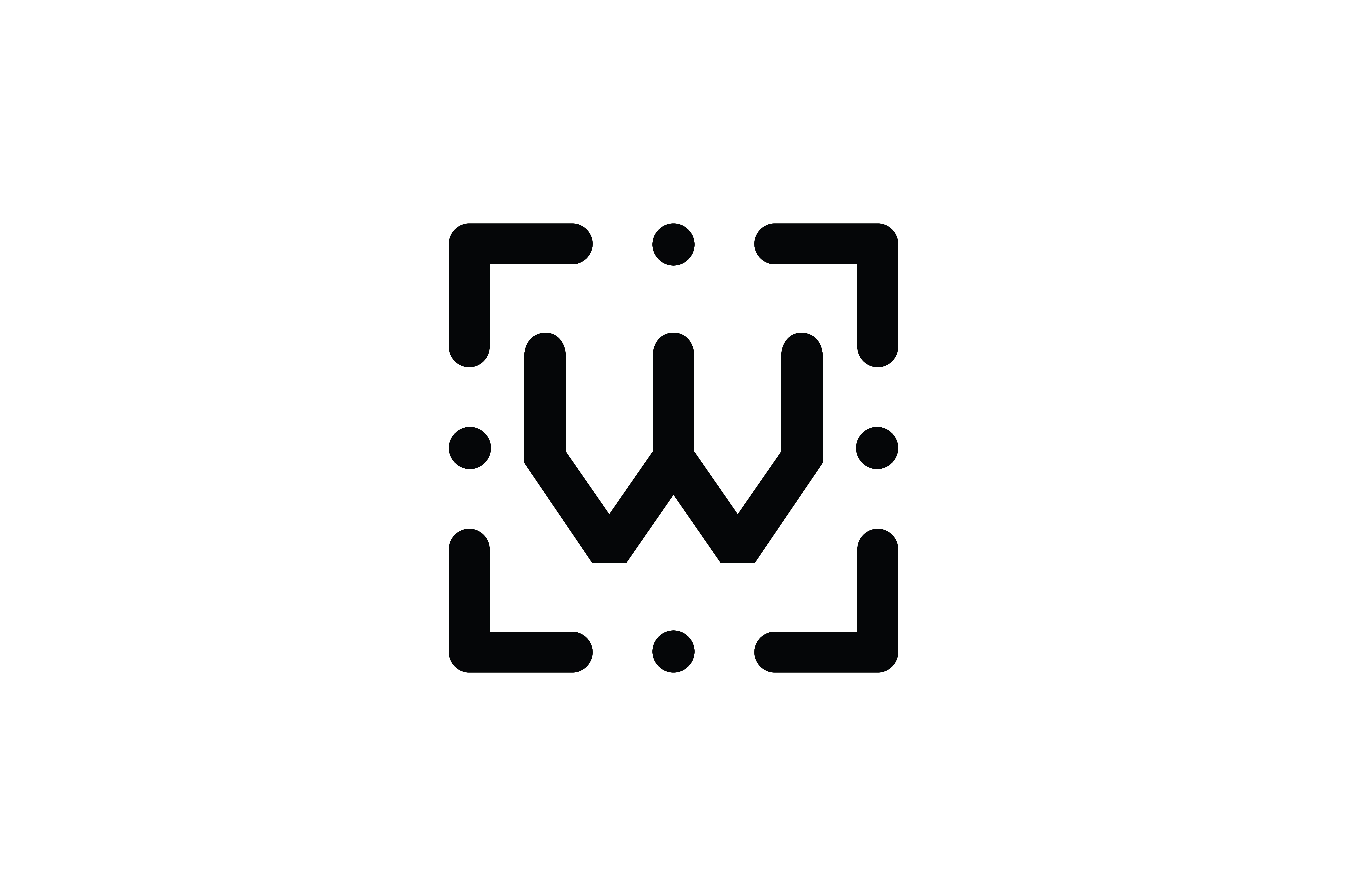 Download Free Letter W Icon Graphic By Newicon Creative Fabrica for Cricut Explore, Silhouette and other cutting machines.