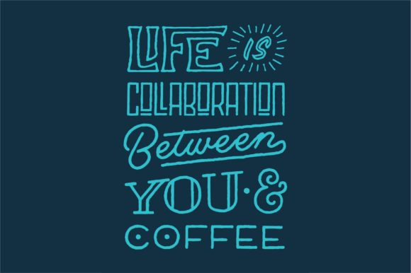 Life is Collaboration Graphic By Sons Of Baidlowi