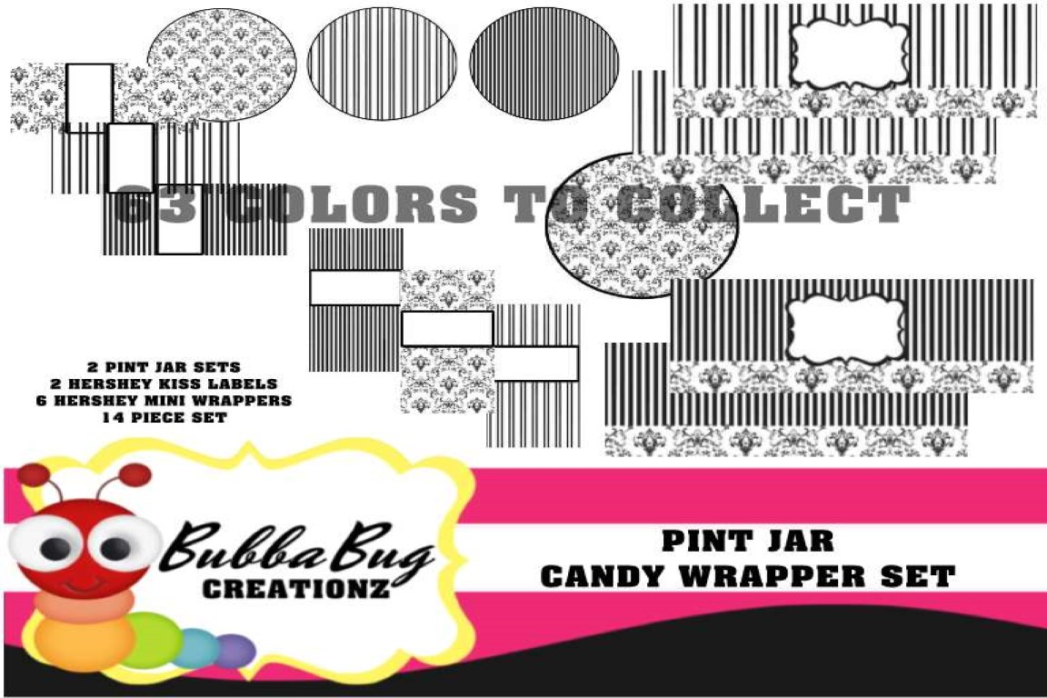 Download Free Light Khaki Pint Jar Set Graphic By Bubbabug Creative Fabrica for Cricut Explore, Silhouette and other cutting machines.