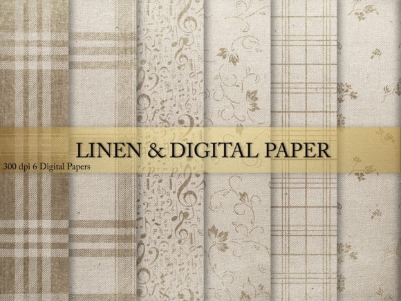 Print on Demand: Linen & Digital Paper Graphic Textures By Creative Paper