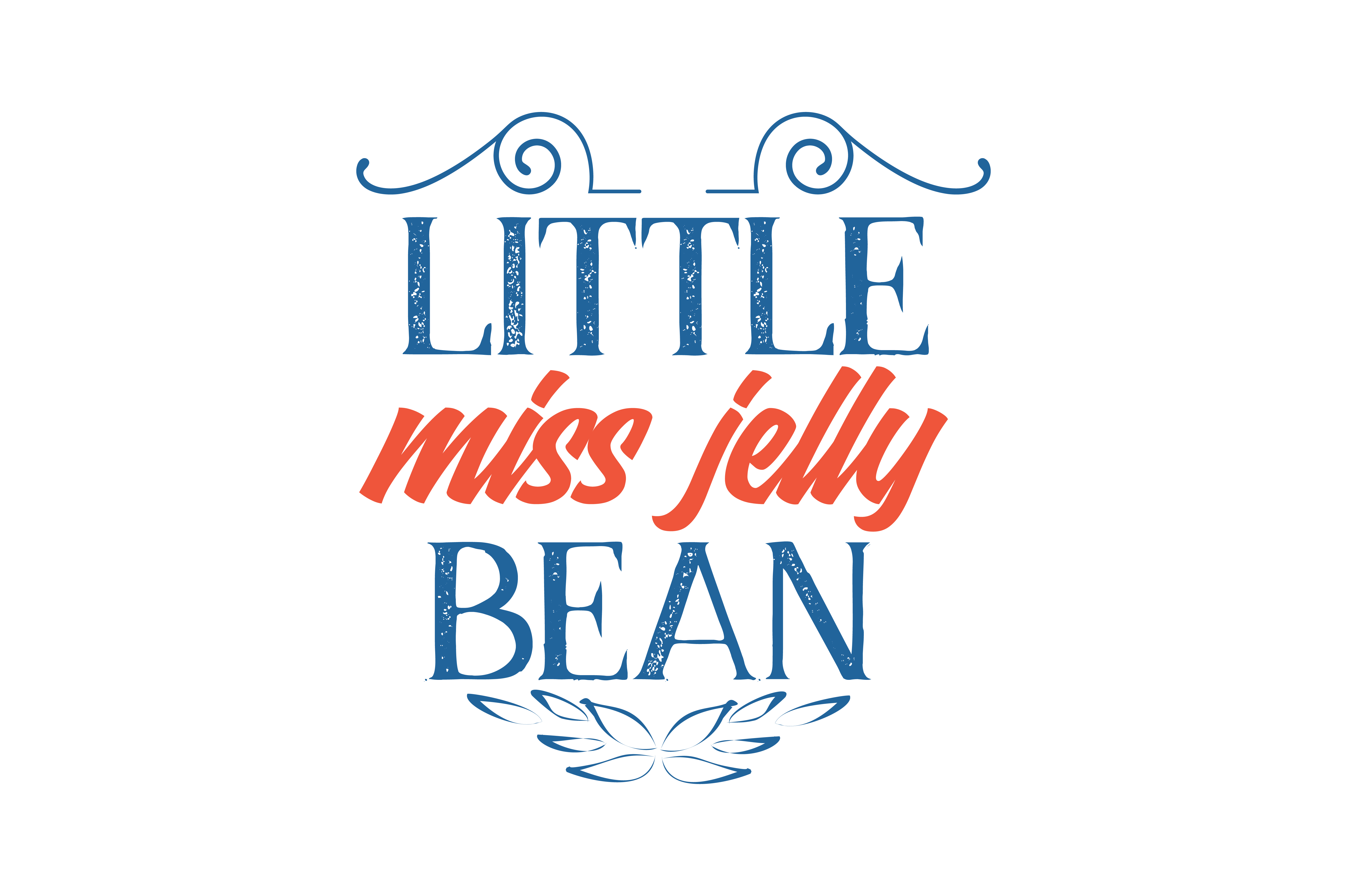 Download Free Little Miss Jelly Bean Quote Svg Cut Graphic By Thelucky for Cricut Explore, Silhouette and other cutting machines.