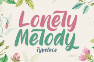 Lonely Melody Font By Aysa - 7NTypes