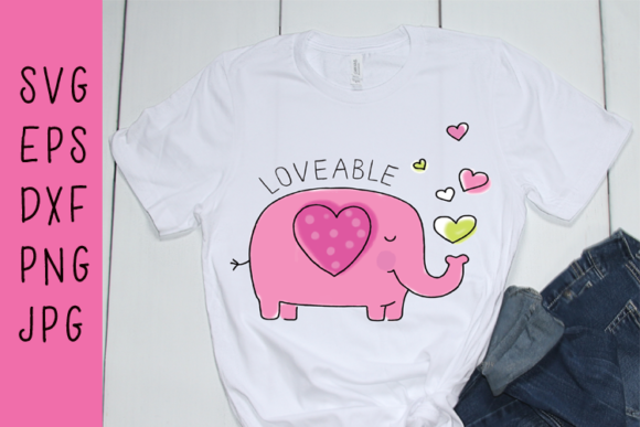 Loveable Elephant Graphic Illustrations By carrtoonz