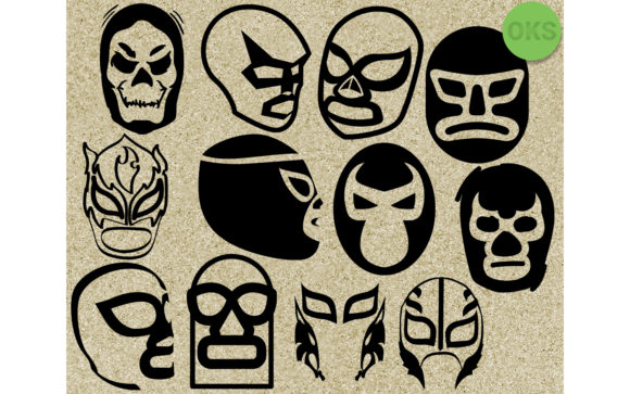 Download Free Luchador Mask Vector Clipart Grafik Von Crafteroks Creative for Cricut Explore, Silhouette and other cutting machines.