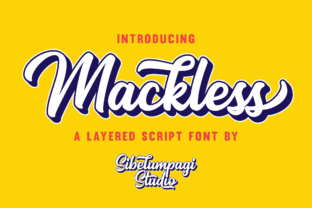 Mackless Script & Handwritten Font By Sibelumpagi Studio