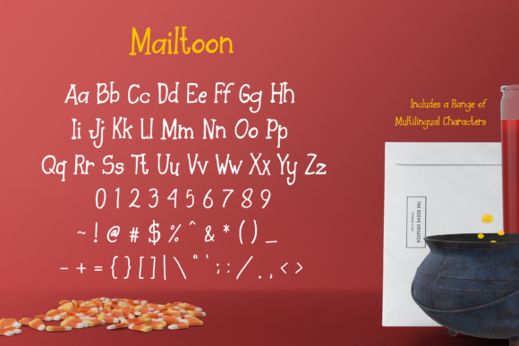Mailtoon Font By Typia Nesia Image 5