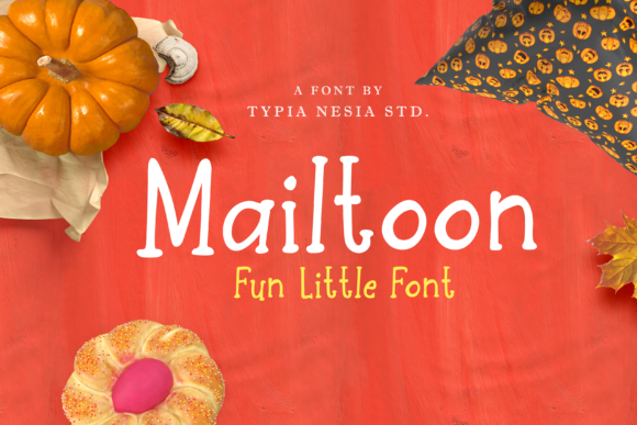 Print on Demand: Mailtoon Sans Serif Font By Typia Nesia