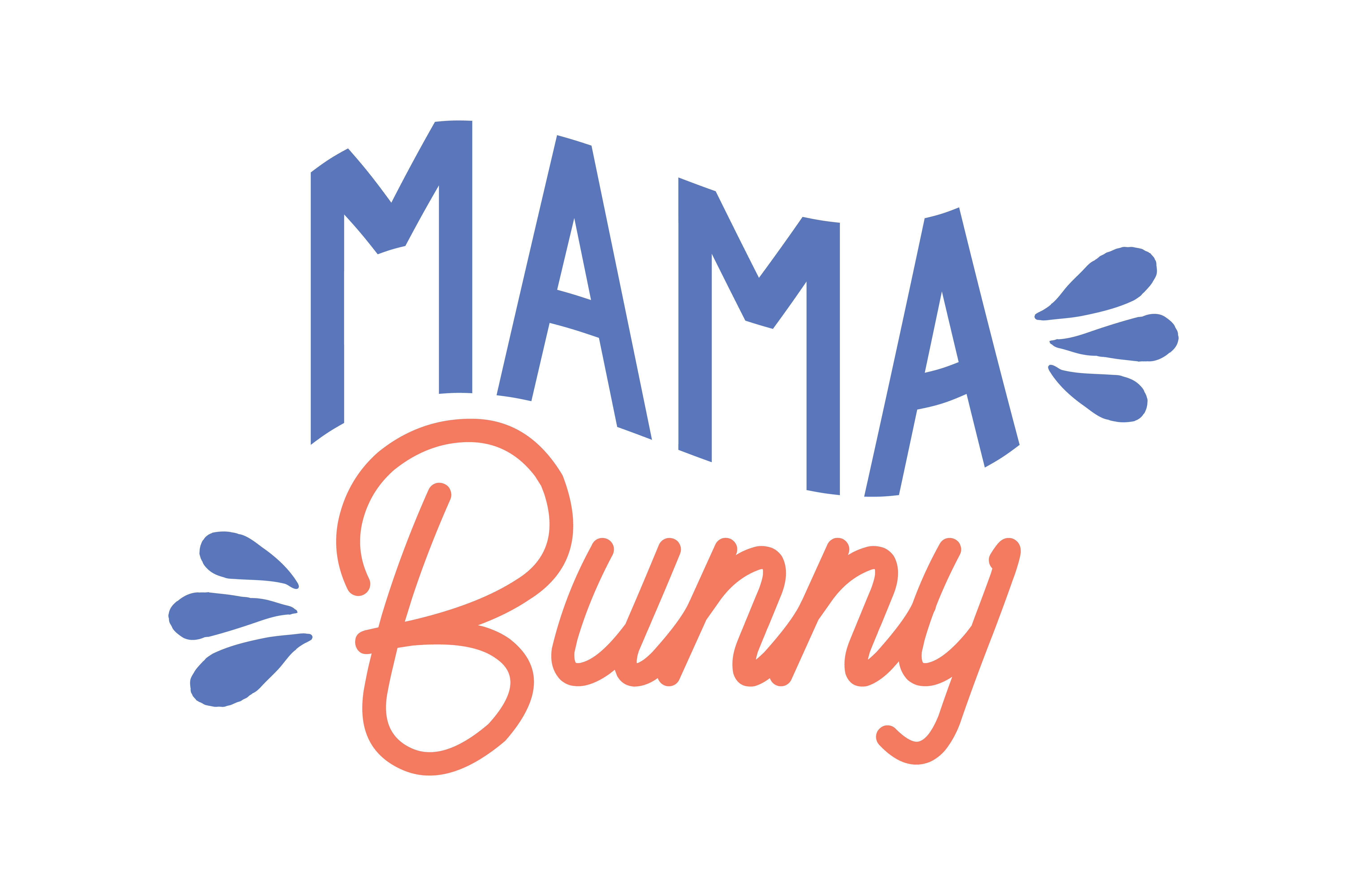 Download Free Mama Bunny Quote Svg Cut Graphic By Thelucky Creative Fabrica for Cricut Explore, Silhouette and other cutting machines.