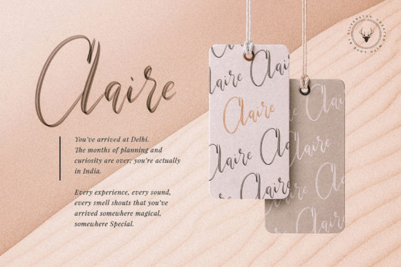 Print on Demand: Maria Rose Color Fonts Font By SilverStag - Image 4