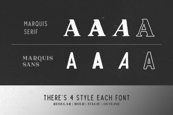 Marquis Duo Font Download