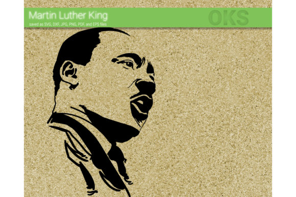 Martin Luther King Svg Vector Graphic By Crafteroks Creative