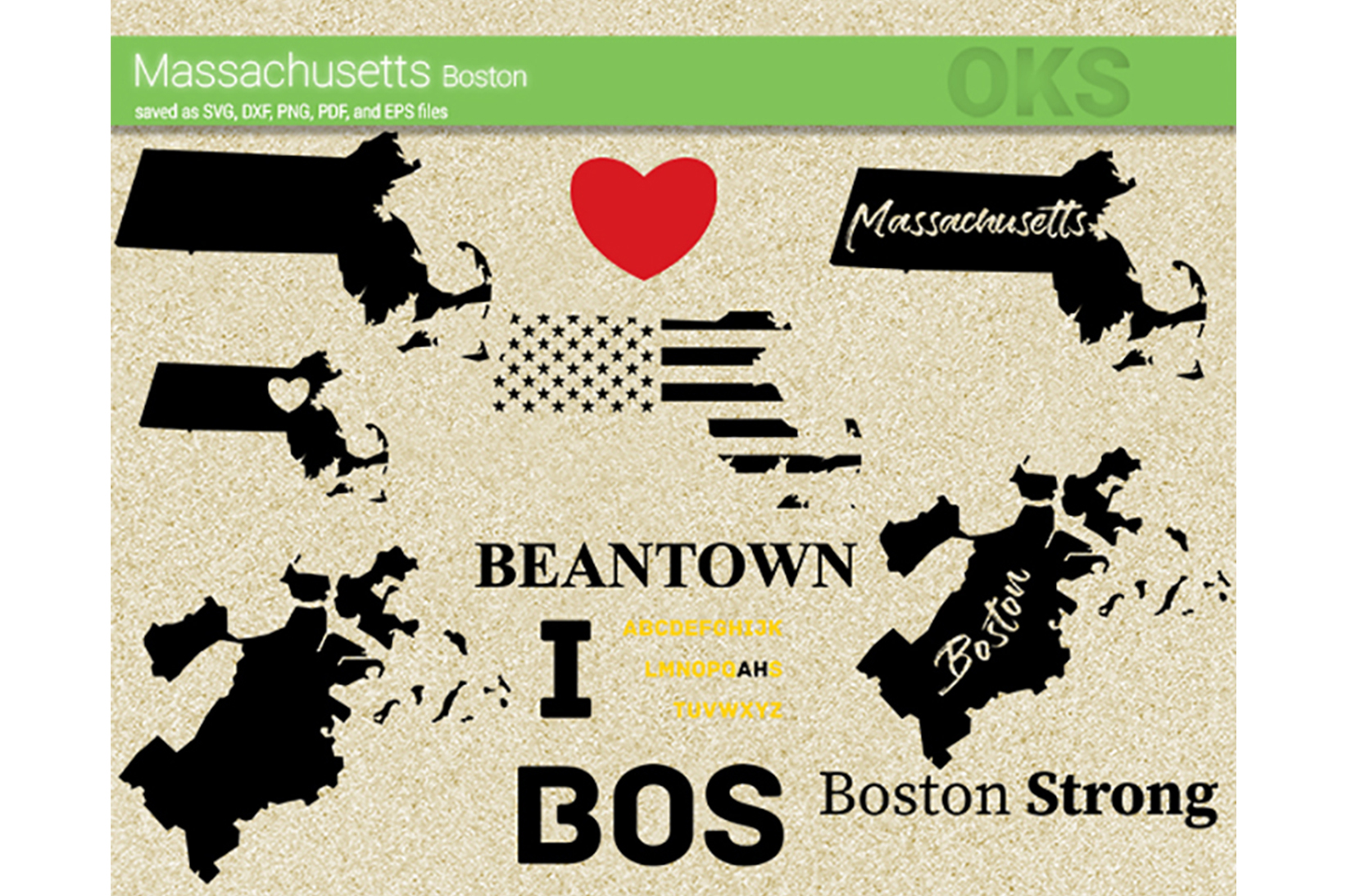 Download Free Massachusetts Boston Vector Graphic By Crafteroks Creative Fabrica SVG Cut Files