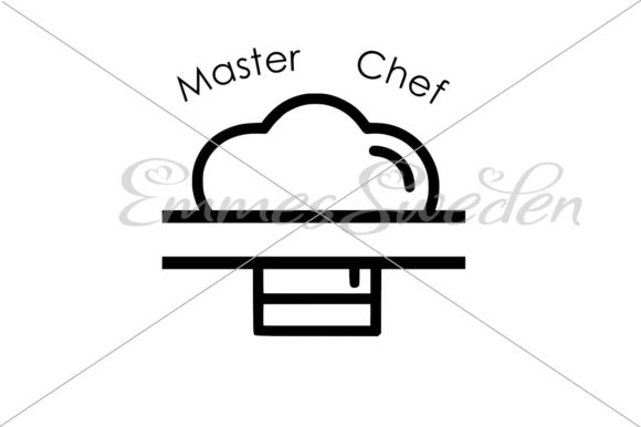 Download Free Master Chef Hat Split Chef Hat Svg Graphic By Emmessweden for Cricut Explore, Silhouette and other cutting machines.