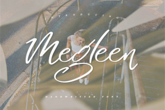 Print on Demand: Megleen Script & Handwritten Font By Katie Holland