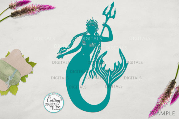 Mermaids Silhouette Bundle Svg Cut Out Graphic By Cornelia