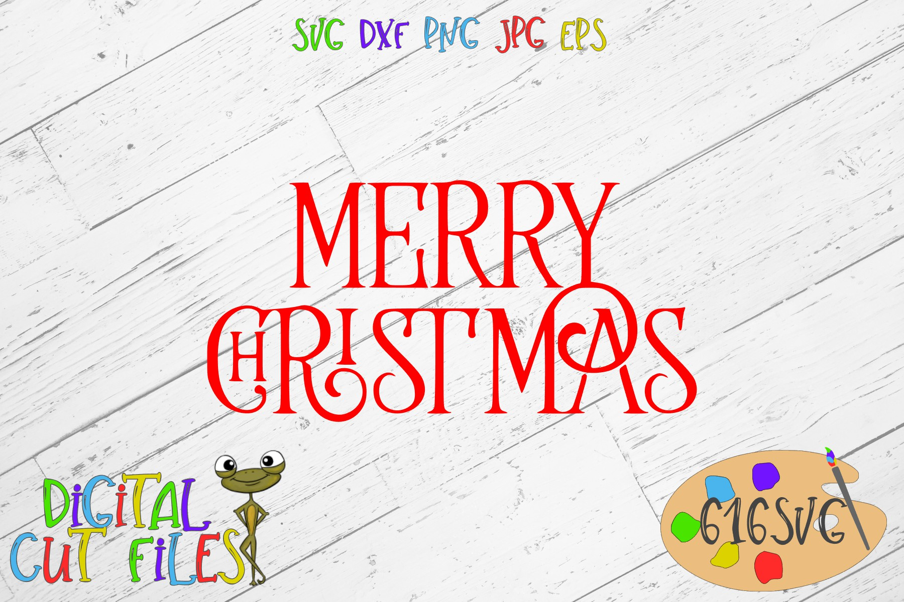 Download Free Merry Christmas Svg Dxf Graphic By 616svg Creative Fabrica for Cricut Explore, Silhouette and other cutting machines.