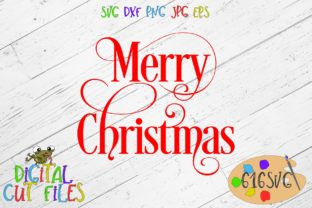 Download Free Merry Christmas Svg Graphic By 616svg Creative Fabrica for Cricut Explore, Silhouette and other cutting machines.