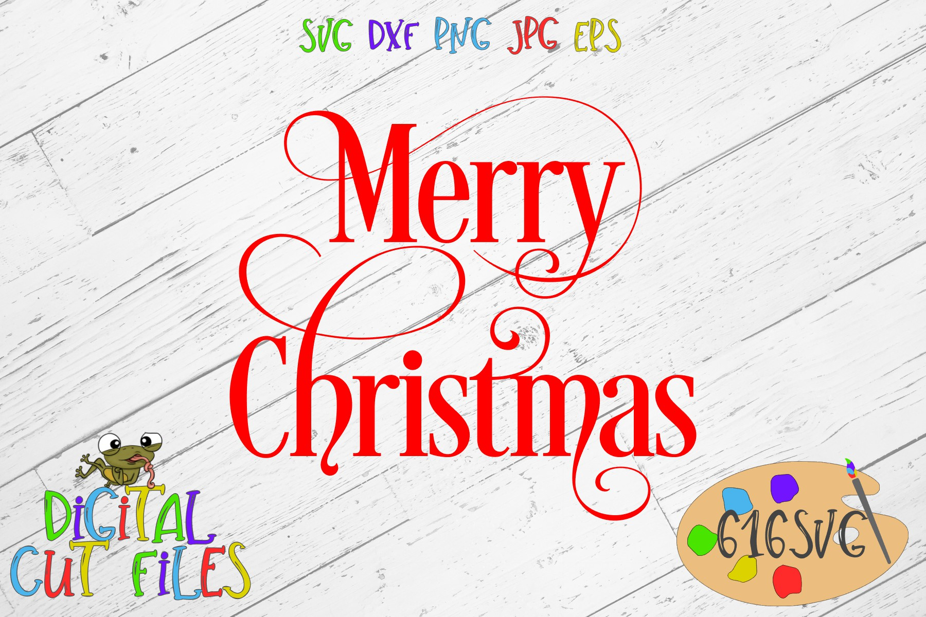 Merry Christmas Svg Graphic By 616svg Creative Fabrica