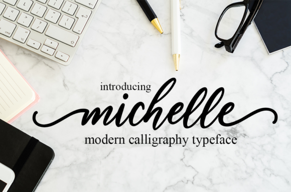 Print on Demand: Michelle Script & Handwritten Font By Symphony Studio - Image 1