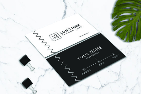 Download Free Minimalis Business Card Template Graphic By Riskysalvis for Cricut Explore, Silhouette and other cutting machines.