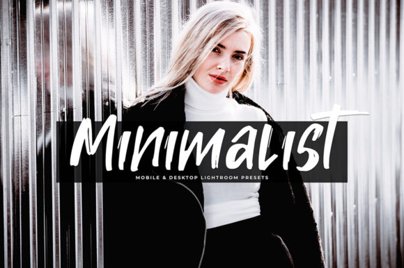 Print on Demand: Minimalist Lightroom Presets Pack Graphic Actions & Presets By Creative Tacos