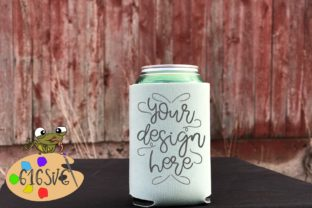 Mint Can Cooler Mockup Graphic Product Mockups By 616SVG